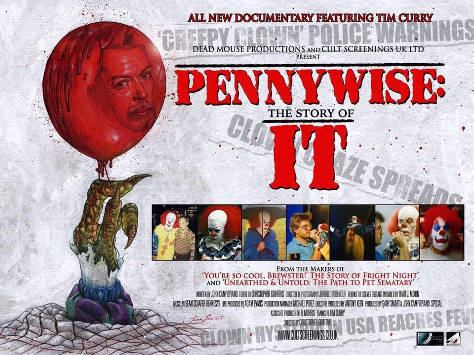 [pennywise the story of it documentary stephen king]