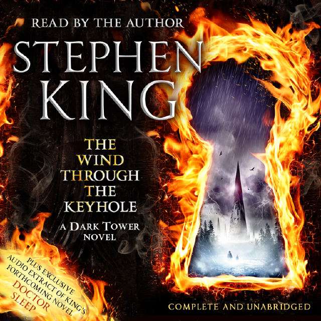 [the wind through the keyhole hodder audio final cover - Stephen King - Photo]