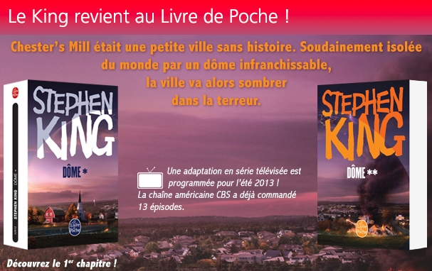 [DOME Stephen King Le Livre de Poche]