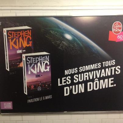 [DOME metro poster Stephen King]