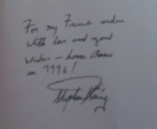 [Stephen King fake signature]