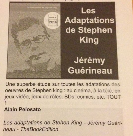 [ScienceFictionMagazine 87 les adaptations de stephenking 1]