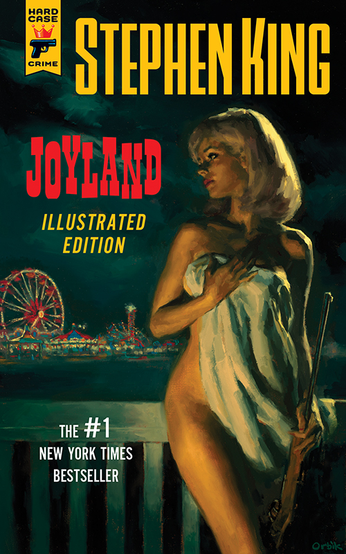 [joyland illustrated stephenking cover]