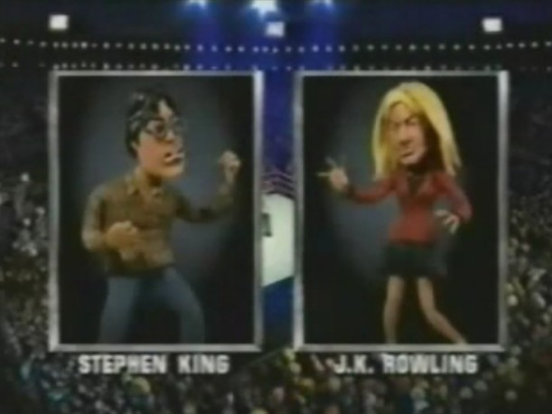 [celebrity deathmatch stephenking jkrowling]