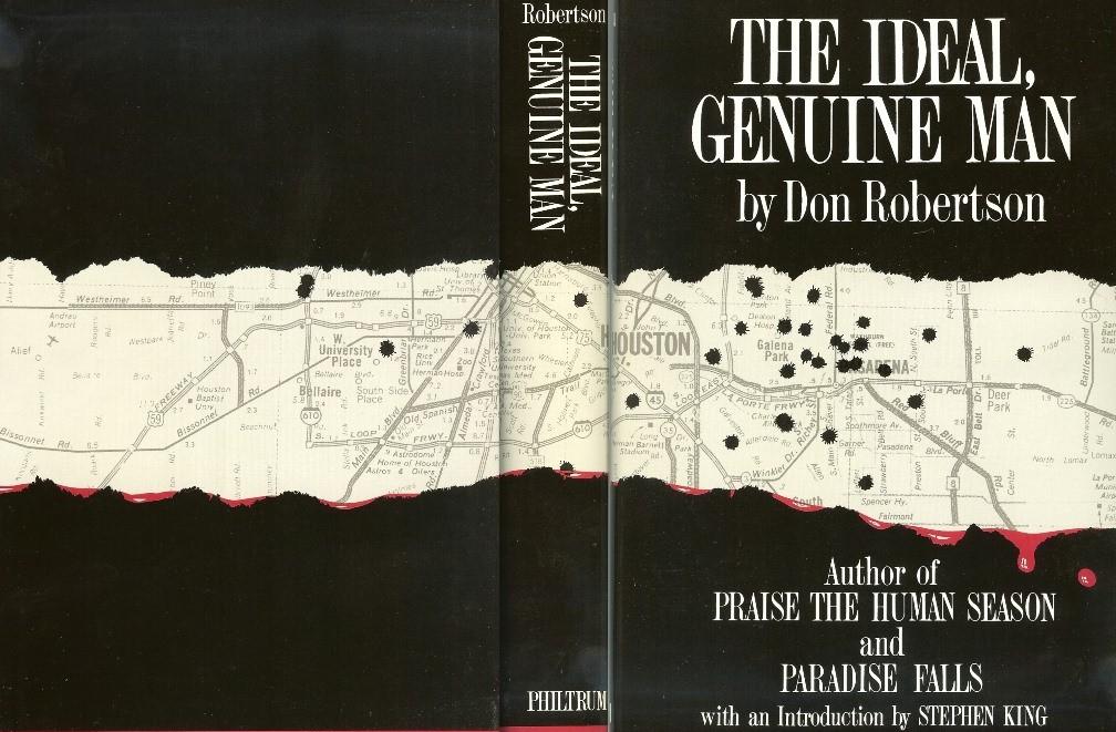 [the ideal genuine man don robertson philtrum press]