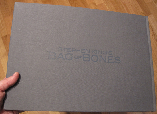 Dark Score Stories - book 2 - promo BAG OF BONES book