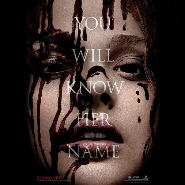 [Carrie la revanche (2013) poster promotionnel américain - Stephen King]