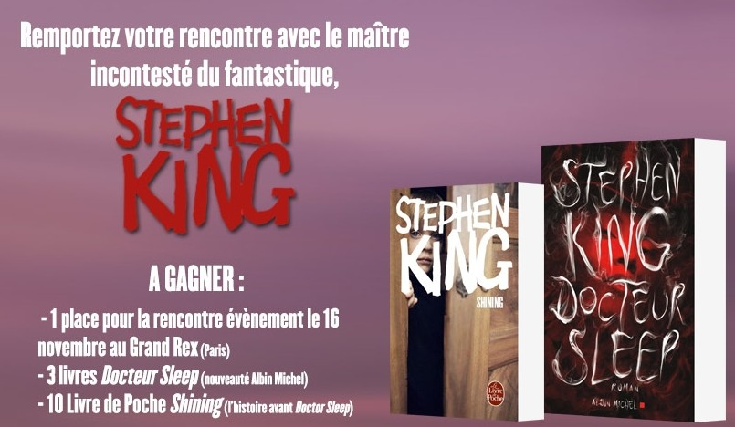 [concours stephen king ]
