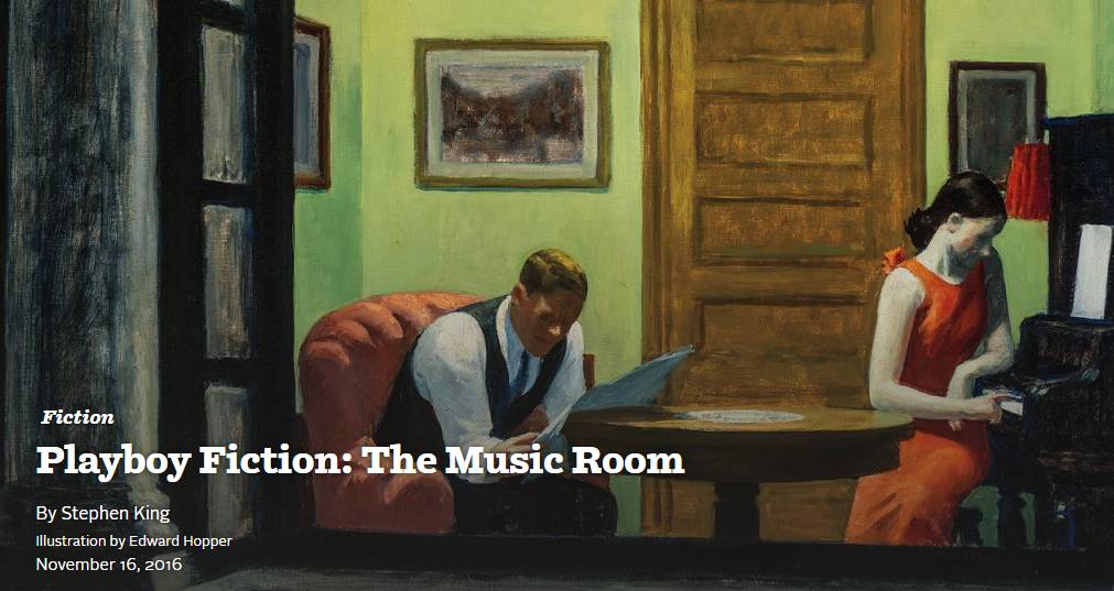 [stephenking the music room playboy anthologie]