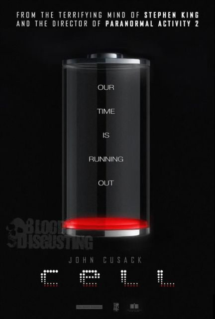 Stephen King CELL Movie - john cusack poster 2