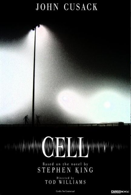 Stephen King CELL Movie - john cusack poster 3