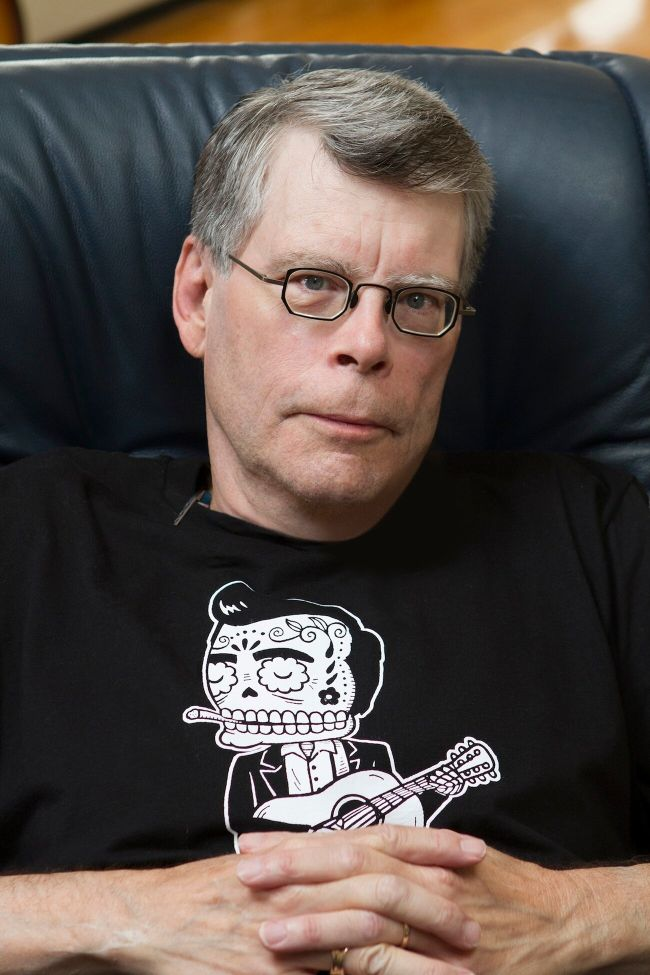 [photo stephen king 2013]