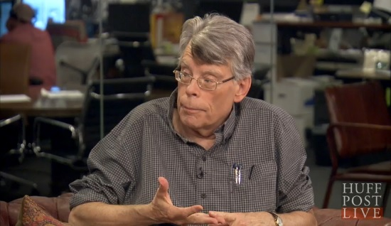 [stephen king interview huffington post live]