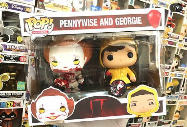 [pennywise stephenking figurine funko pennywise georgie]