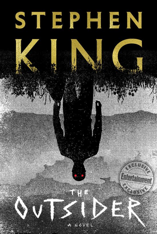 [THE OUTSIDER - couverture du livre de Stephen King ]