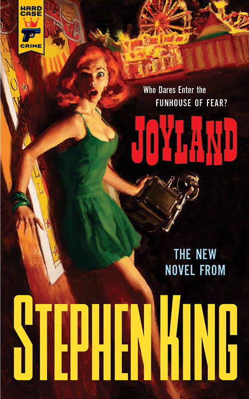 [joyland Stephen King - hard case crime, juin 2013