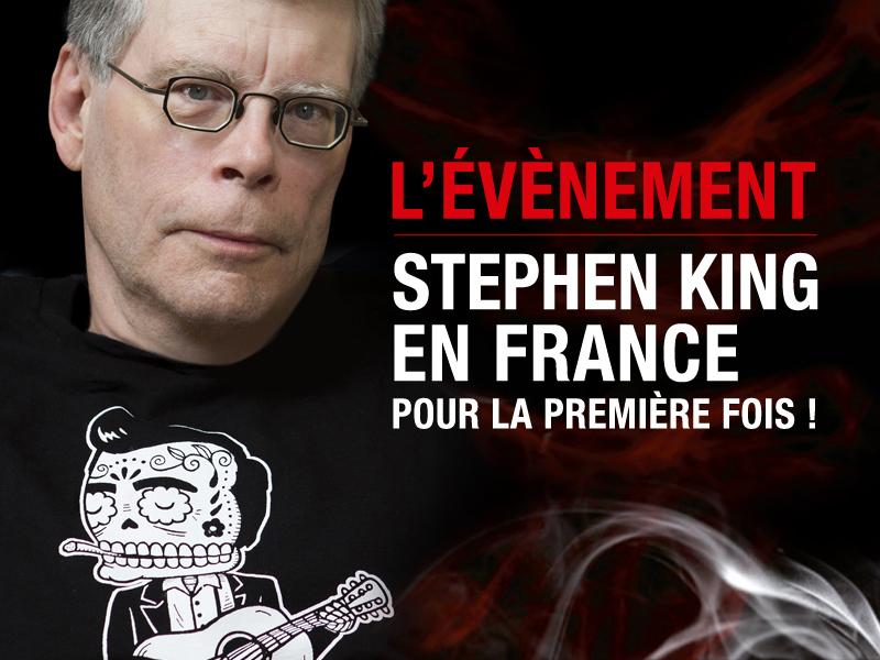 [Stephen King en France]