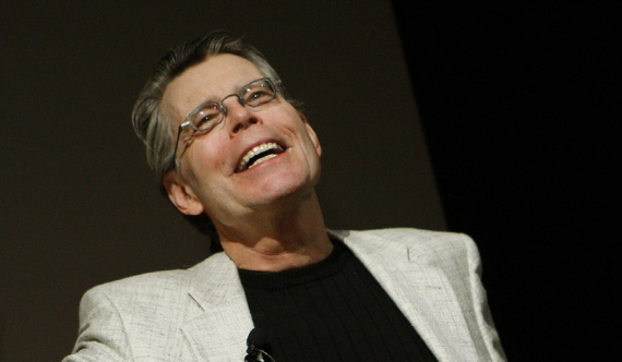 [photo de stephen king par mike segar]
