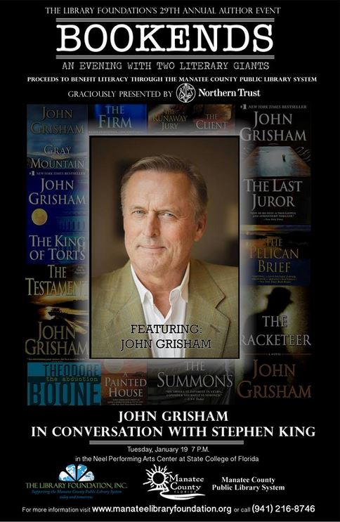 [stephenking johngrisham]