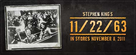 11-22-1963 Stephen King us promo