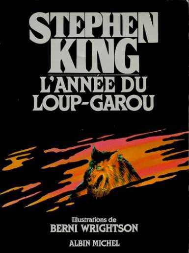 année du loup garou, livre Stephen King