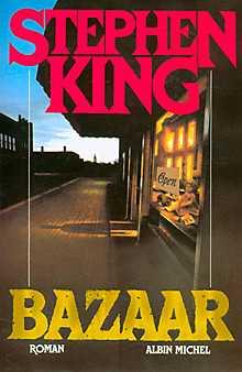 BAZAAR, livre Stephen King