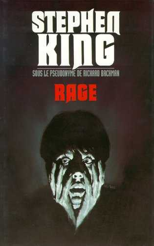 Rage ~ by STEPHEN KING as RICHARD BACHMAN ~ First Edition 1st Printing 1977 MMPB