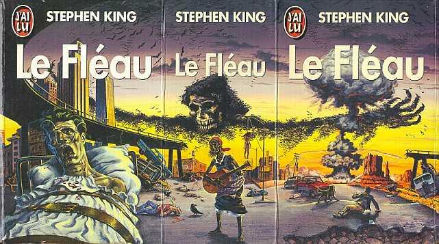 LE FLEAU, Stephen King, couverture
