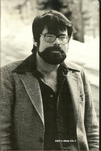 photo de stephen king 70s