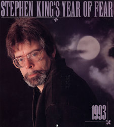 photo de stephen king - calendar 1993