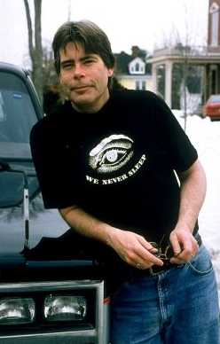 photo de stephen king 1994 - we never sleep
