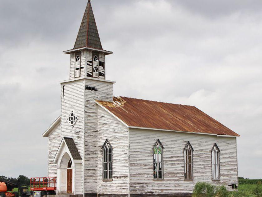 In The Tall Grass Church