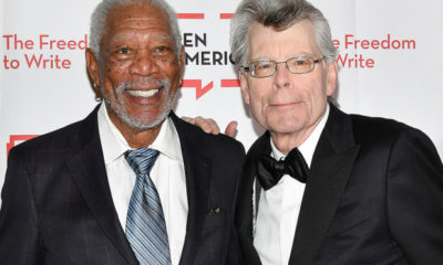 Shawshank Redemption Morgan Freeman Stephen King Pen America Gala
