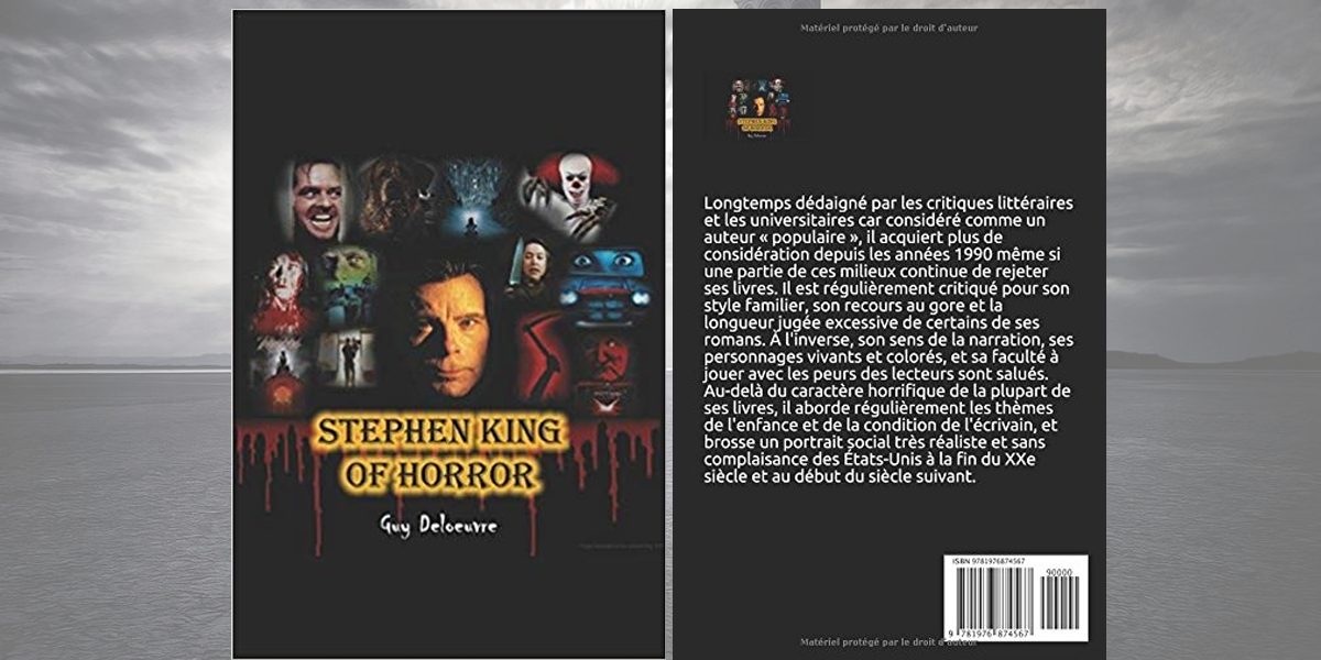 Stephen King King Of Horror Livre 2018