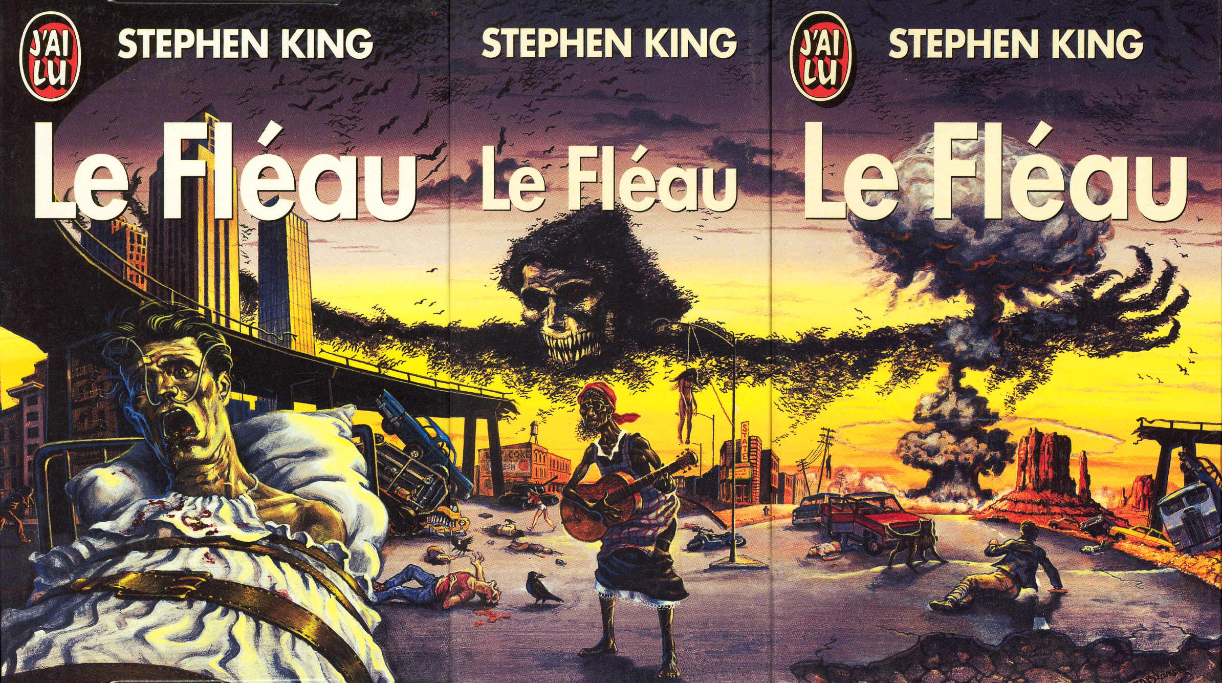 Stephen King Le Fleau Jai Lu Coffret