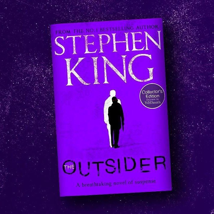 the outsider - couverture alternative whsmith par Stephen King